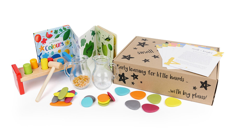 childrens activity box for 17 months old