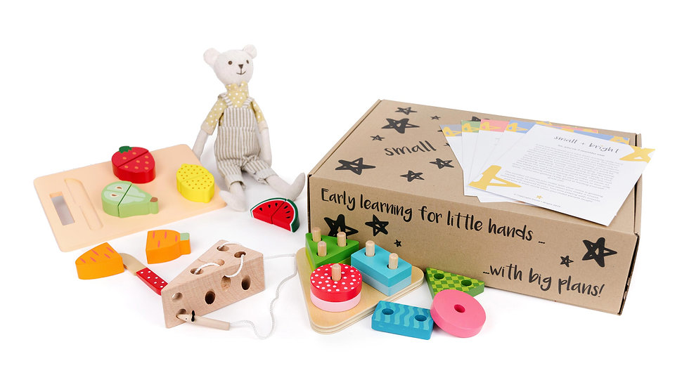 small bright learning subscription box