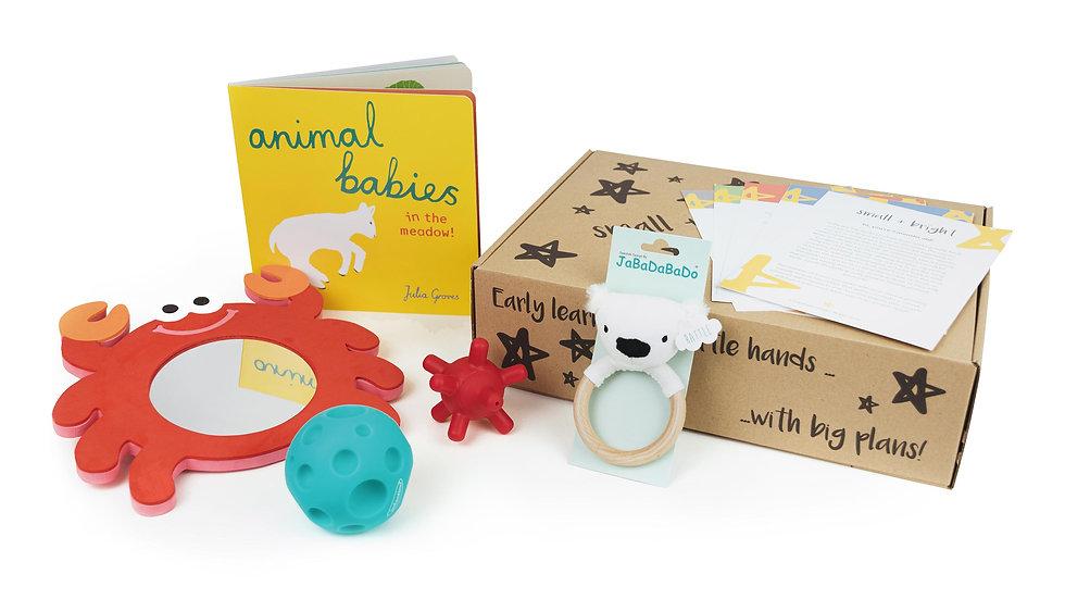 baby gift with montessori activities