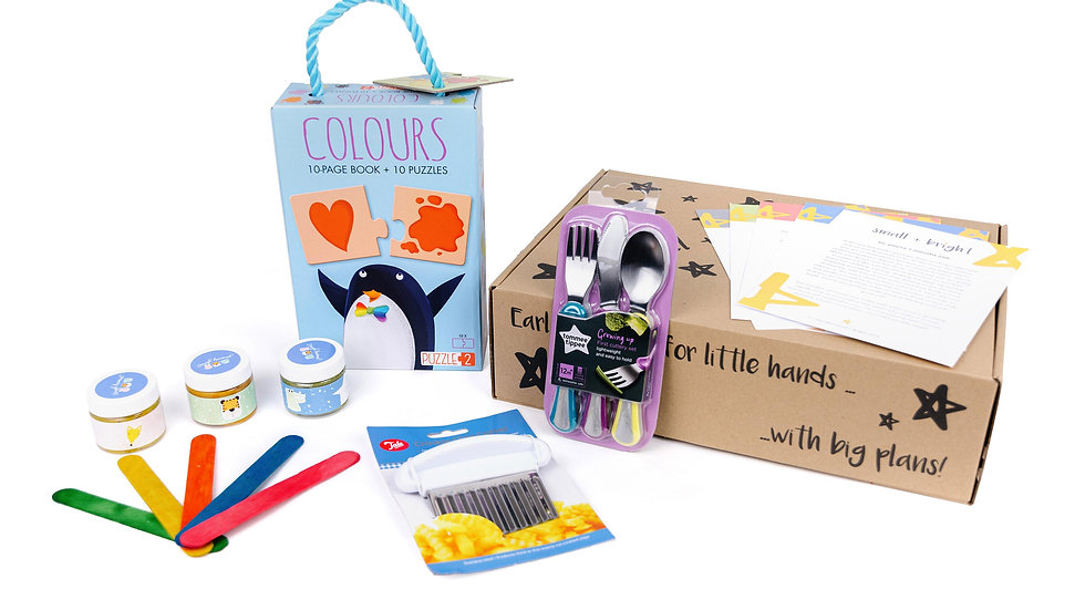 16 months box for small bright learning
