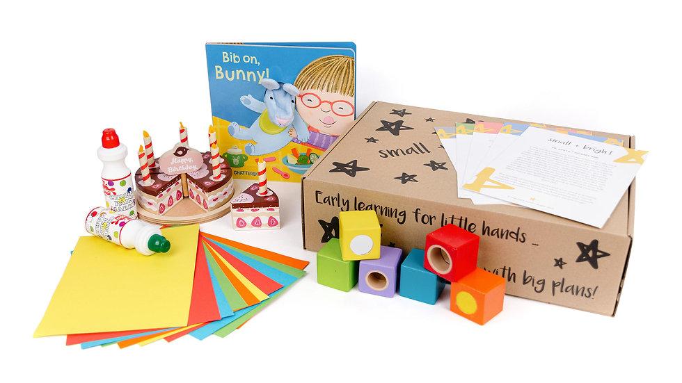 1st birthday childrens activity box
