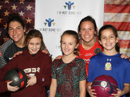 Train with a Pro Soccer Clinic Big Success!