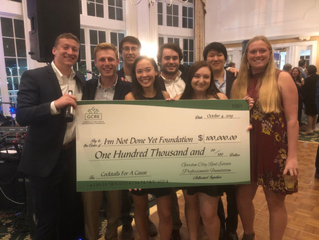 Garden City Real Estate Professionals raise $100k for I'm Not Done Yet