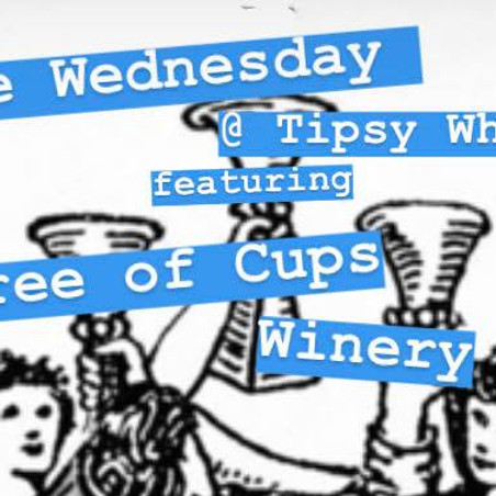 Wine Wednesday with Three of Cups Winery!
