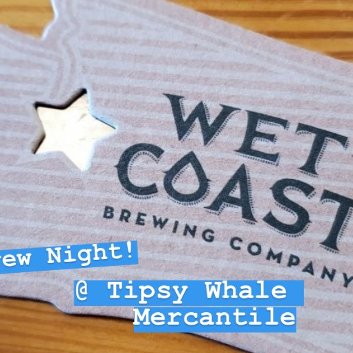 Wet Coast Wednesday!