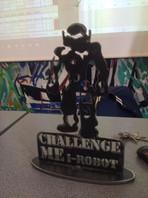 Le trophée du challenge inter-lycées