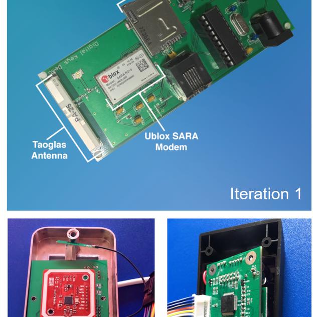 Narrowband Smartlock PCB's