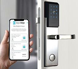 NB-IoT smartlock opening method 1 with Digital Keys app