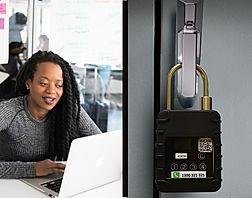 Unlocking NB-IoT smart padlock in cloud based software