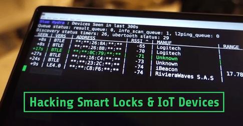 How to hack Bluetooth smart locks