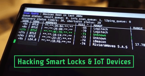 How to hack Bluetooth smart locks