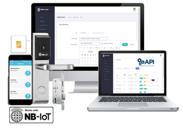 NB IoT Smart access control system