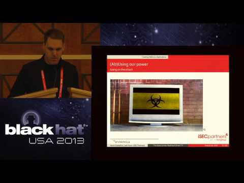 Hacking Z-Wave Home Automation Systems - Black Hat video