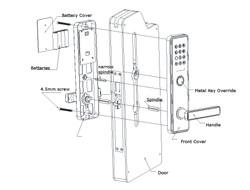 Installation of NB IoT Smart Lock