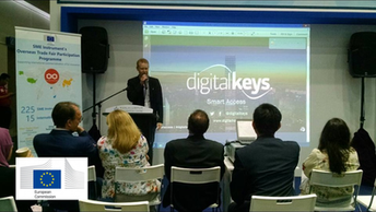 Presenting Digital Keys at a conference in Malaysia