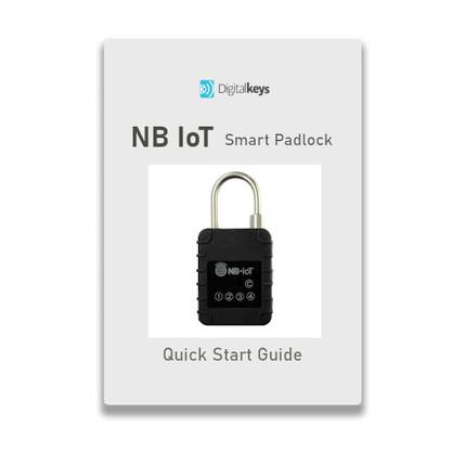 NB IoT smart lock instruction manual