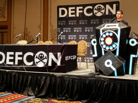 Picking Bluetooth Low Energy Locks a Quarter Mile Away - Defcon conference video