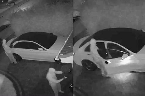Watch thieves hack keyless entry to steal a Mercedes in less than a minute