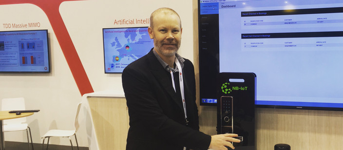 Digital Keys launches smart access at Mobile Broadband London