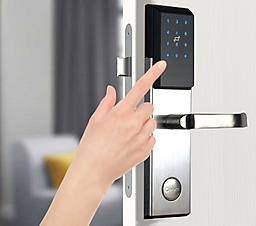 NB-IoT smartlock opening method 2 with PIN