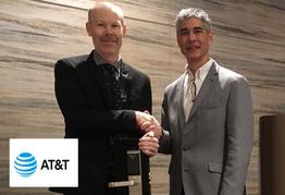 Digital Keys CEO with VP IoT at AT&T