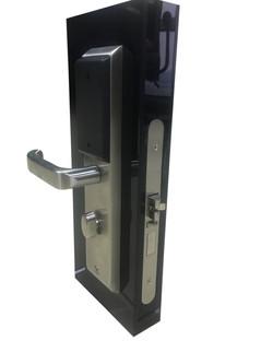 NB IoT lock on angle white background