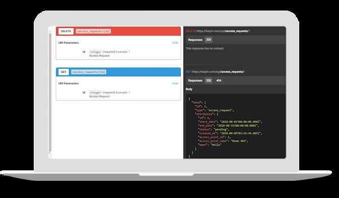NB-IoT smart locks API