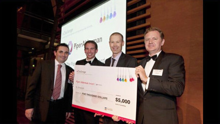 Winning a business pitching competition
