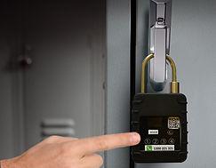 Unlocking NB-IoT smart padlock with PIN