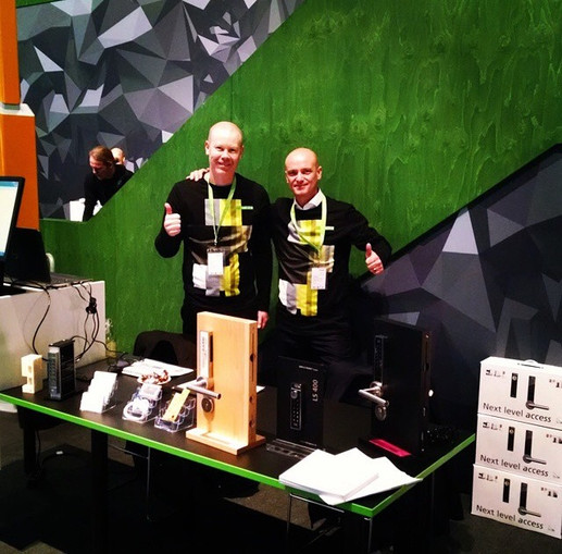 At CEBIT Trade Show Germany 2016