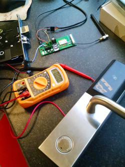 NB IoT Smart Lock under development
