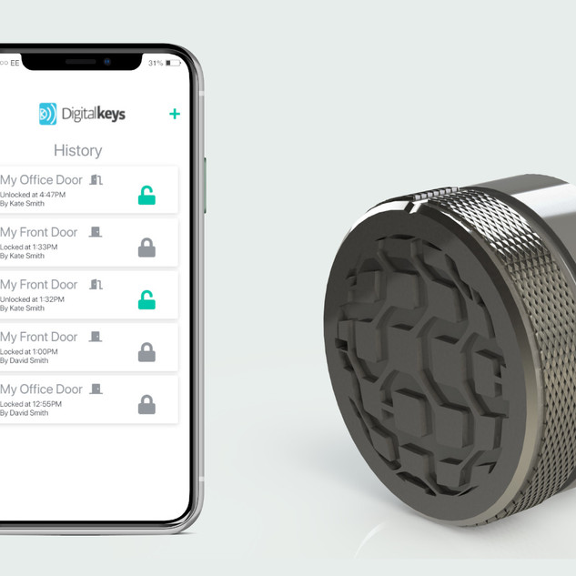 Narrowband Smartlock and Digital Keys app