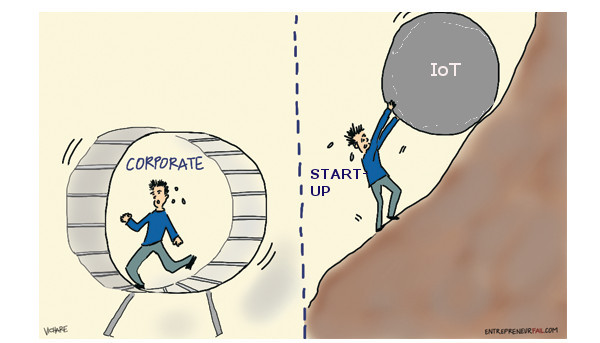 Will start-ups get the IoT ball rolling?