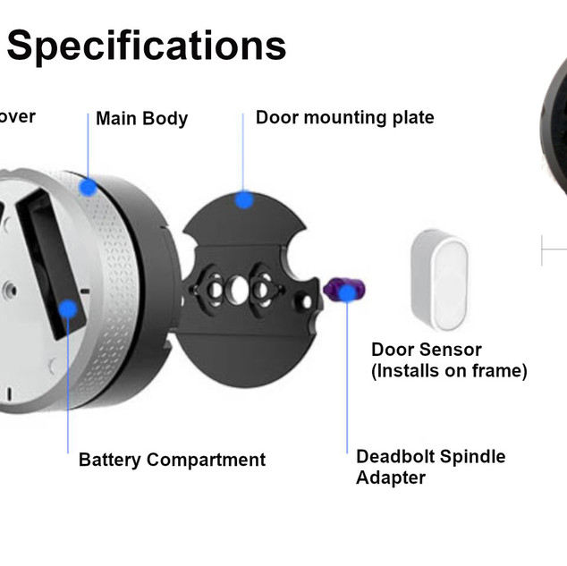 Narrowband Smartlock Specifications