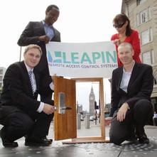 The co-founders of LEAPIN Digital Keys in London