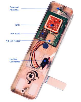 NB IoT smart lock LDK100