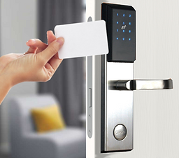 NB-IoT smartlock opening method 4 with NFC cards and tokens