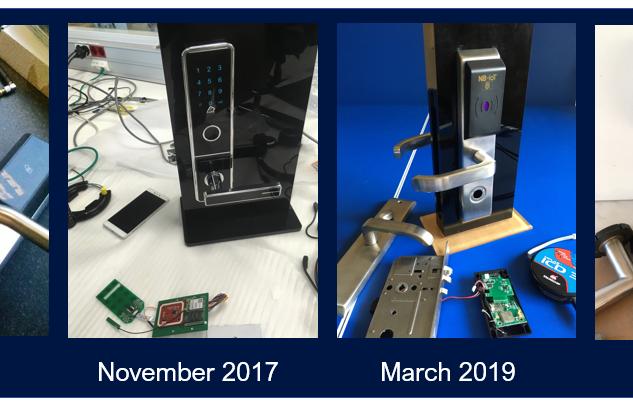 Narrowband Smartlock iterations