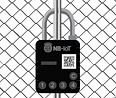 NB-IoT smartlock on a gate