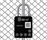 NB-IoT smartlock on a gate
