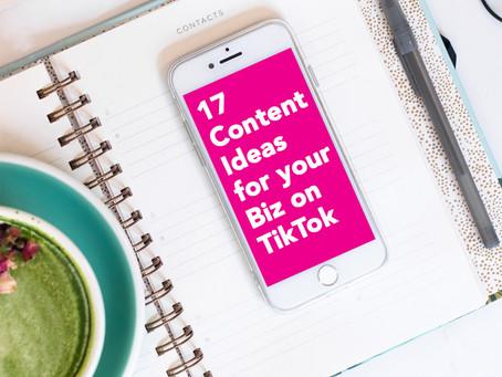 Business TikTok: Badass Ideas for TikTok Video Content