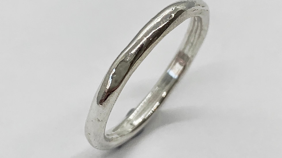 """""""Barely There"""" Freeform Ring"""