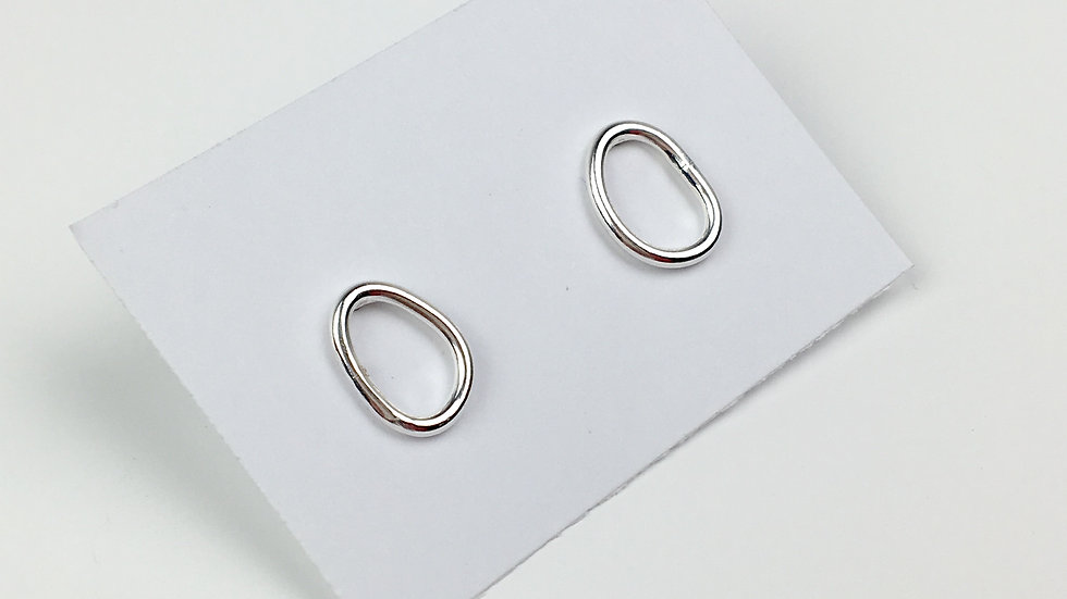 Small 'Puddle' Stud Earrings