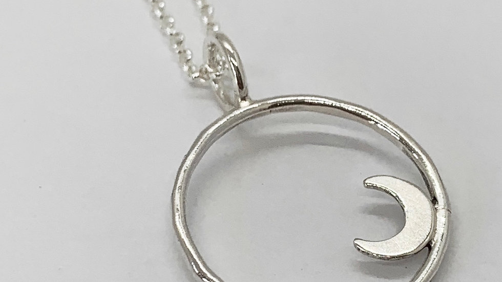 'Look to the Moon' Necklace