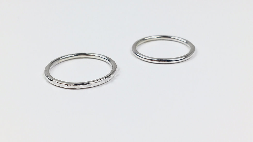 Minimal stacking ring