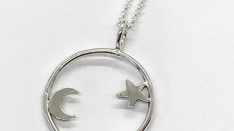 """""""Look to the Sky"""" Pendant"""