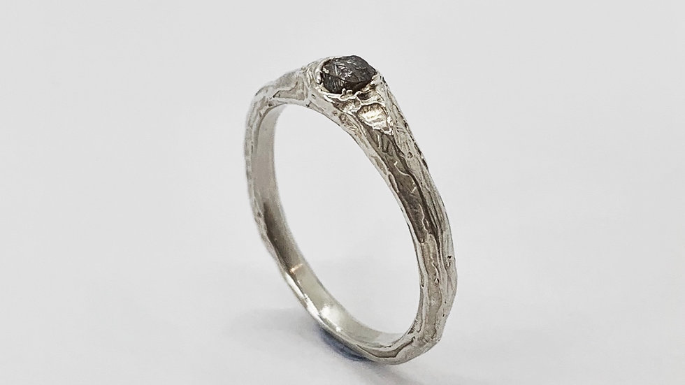 Rough Diamond Organic Ring