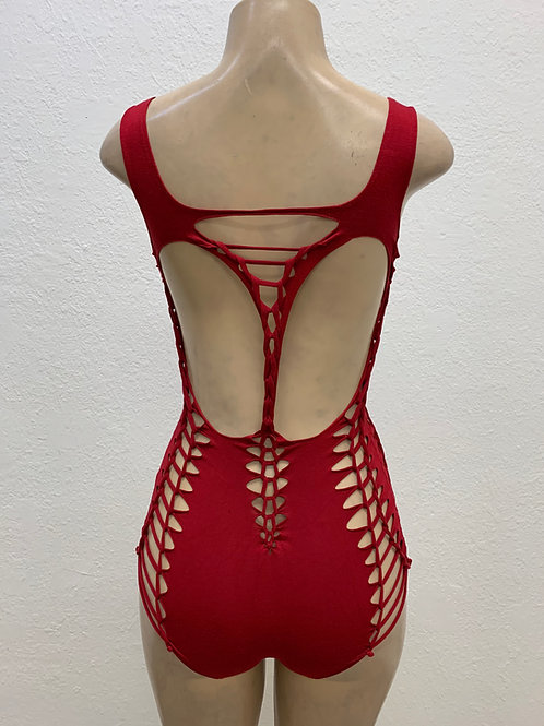 Red Vixen Bodysuit