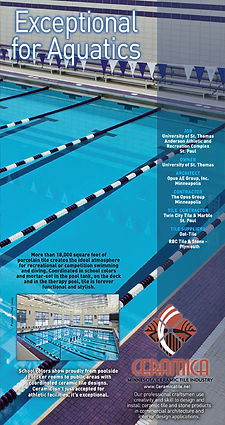 Twin City Tile & Marbe Co | Exceptional for Aquatics