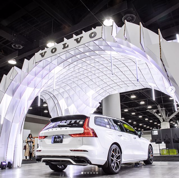 Eco-friendly Lighting Design for Volvo Cars at 2020 Interior Design Show